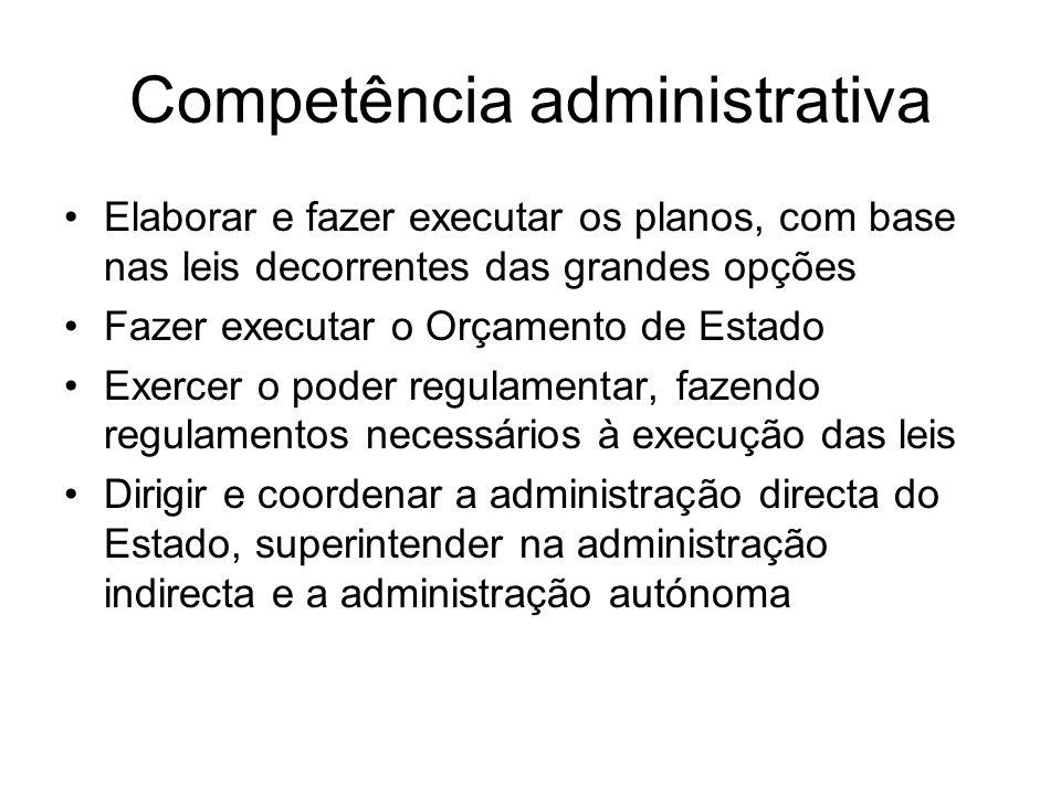 Competência administrativa