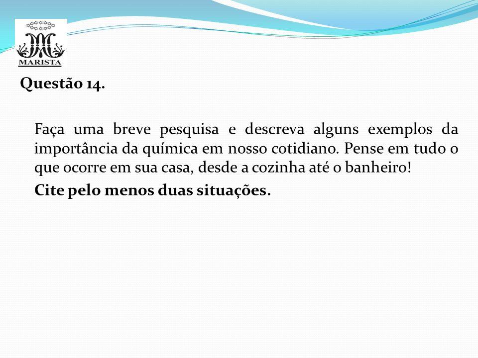 Questão 14.