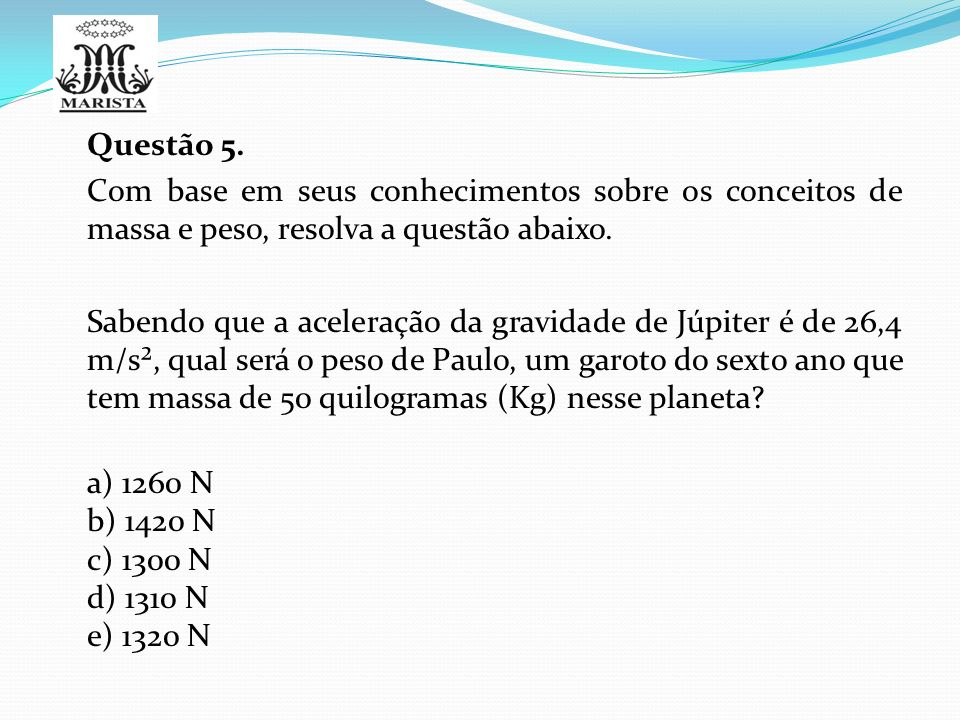 Questão 5.