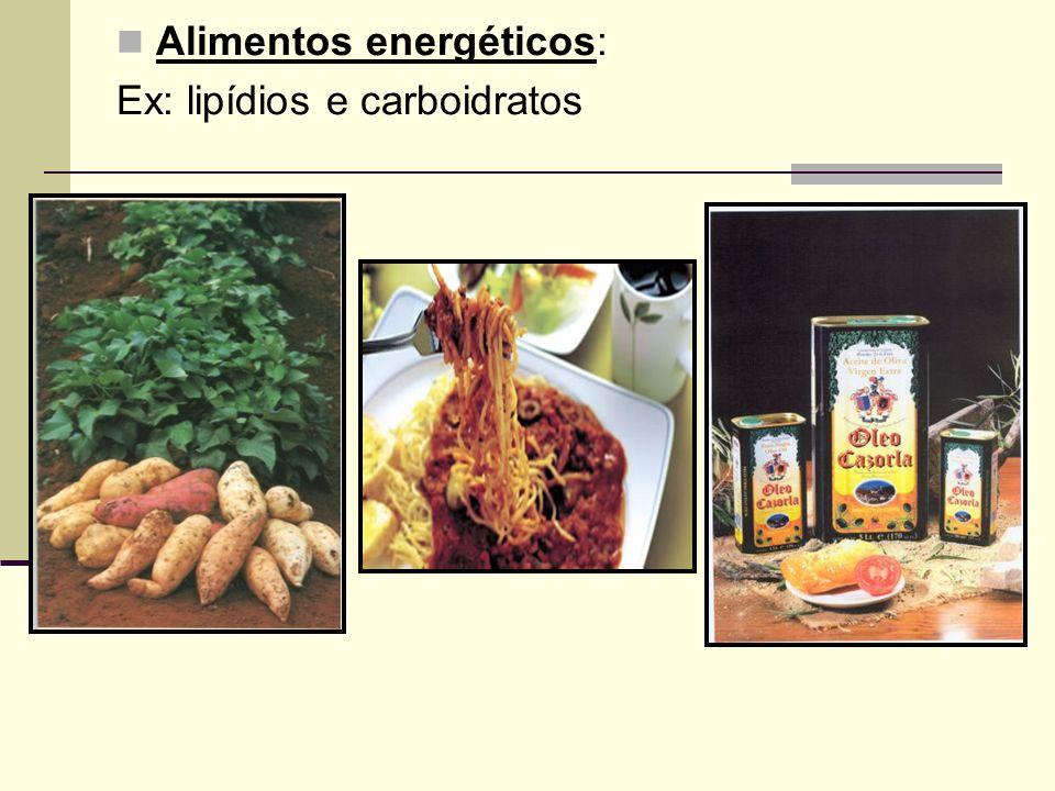 Alimentos energéticos: