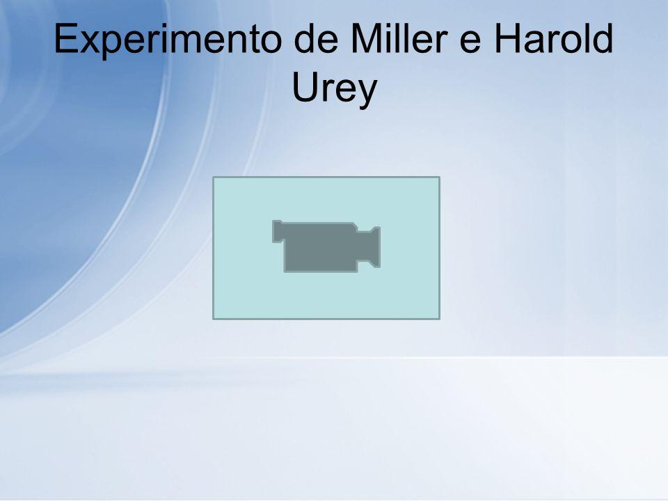 Experimento de Miller e Harold Urey