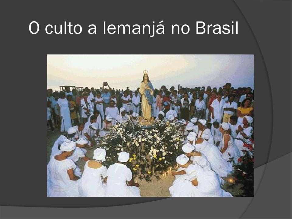 O culto a Iemanjá no Brasil