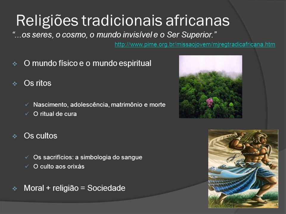 Religiões tradicionais africanas
