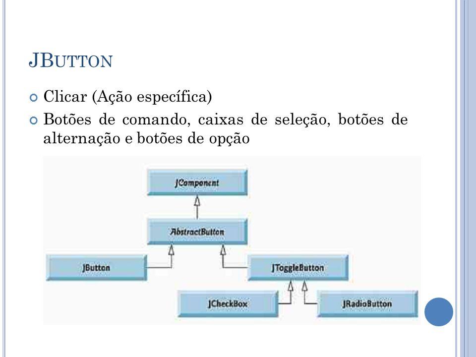 JButton Clicar (Ação específica)