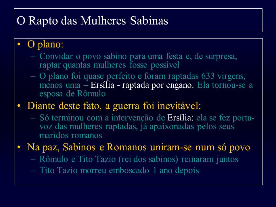 O Rapto das Mulheres Sabinas