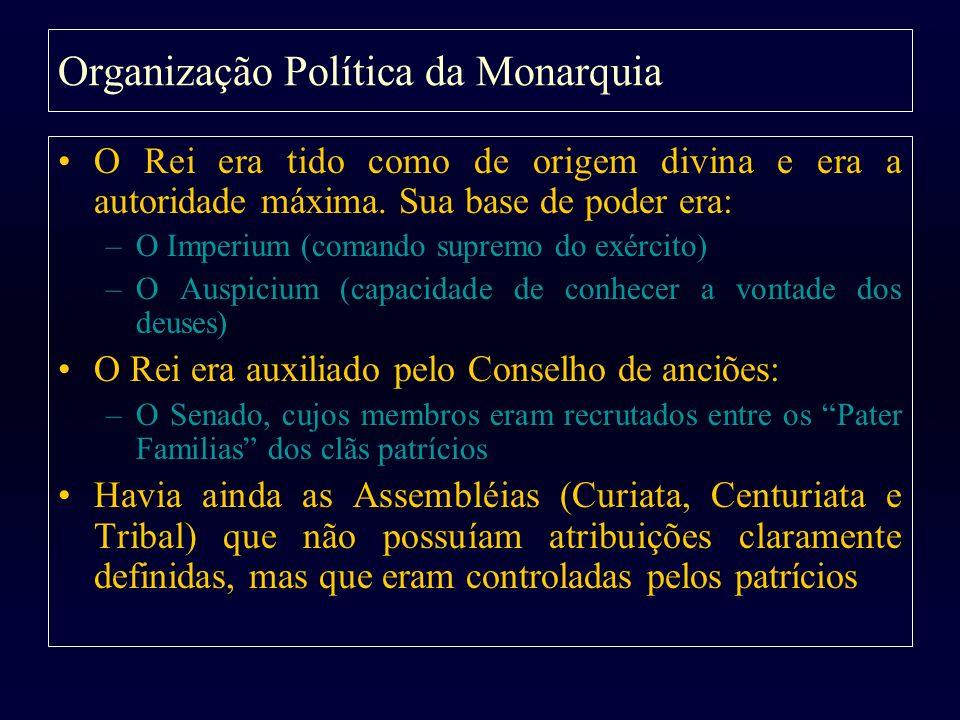 Organização Política da Monarquia