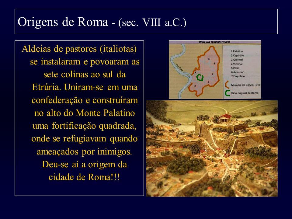 Origens de Roma - (sec. VIII a.C.)