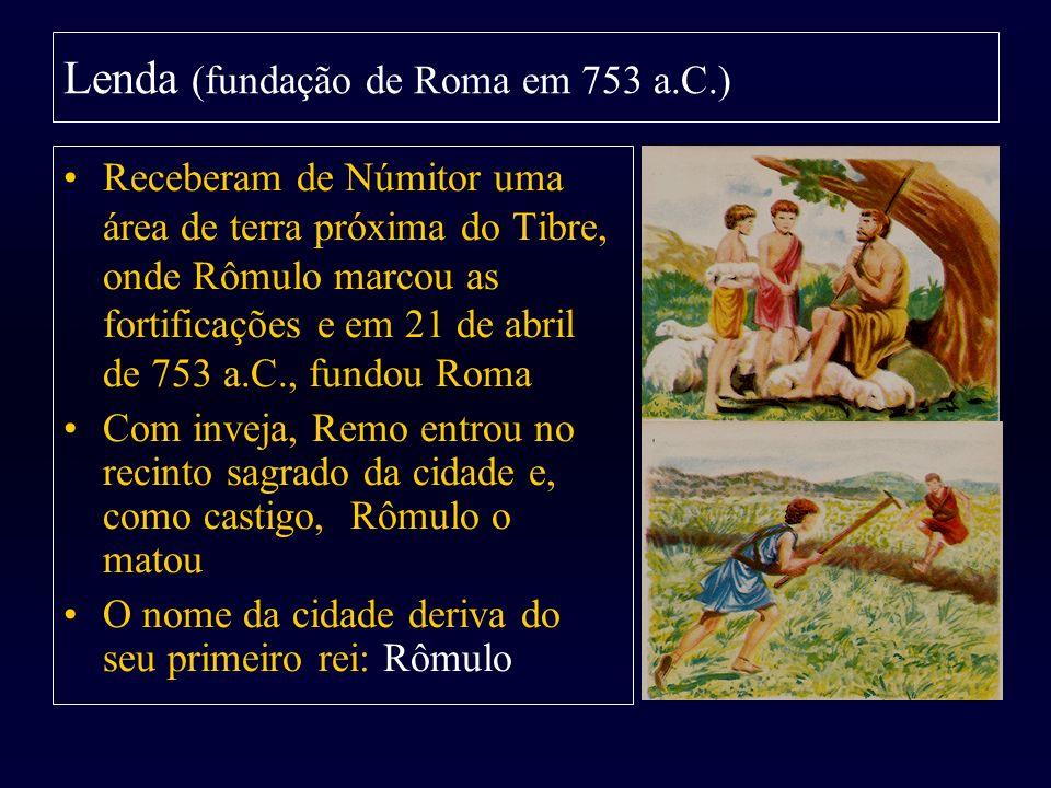 Lenda (fundação de Roma em 753 a.C.)