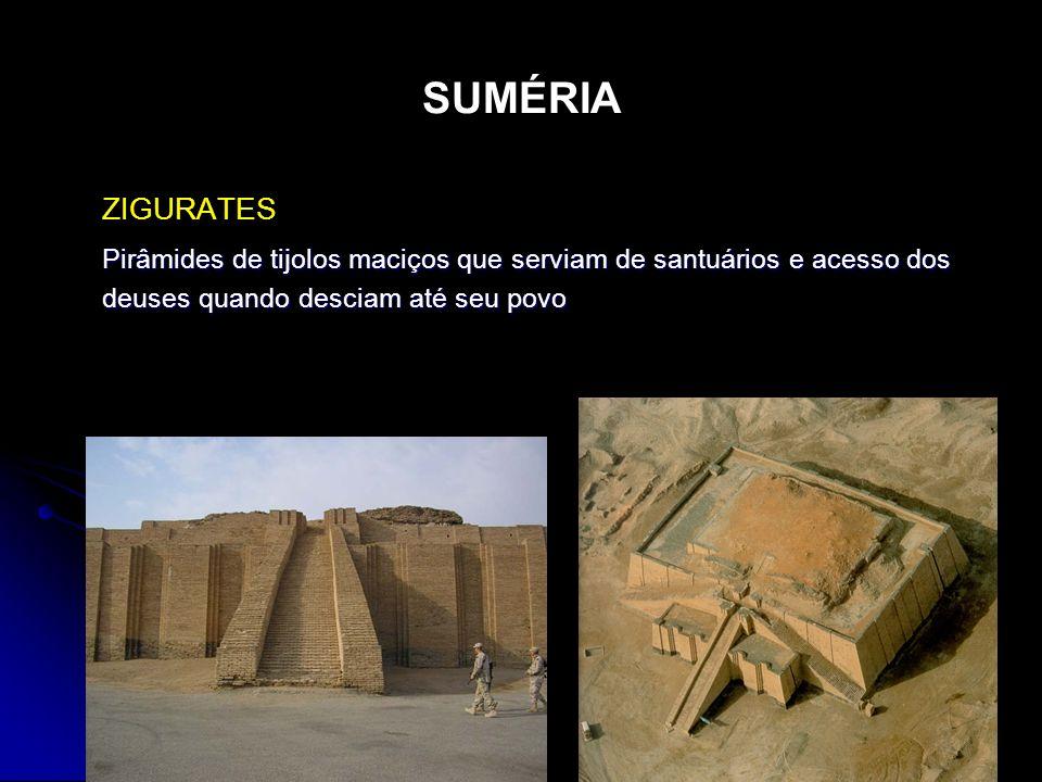 SUMÉRIA ZIGURATES.