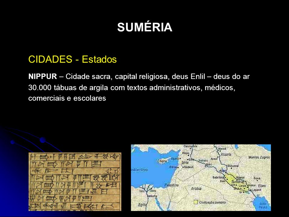 SUMÉRIA CIDADES - Estados