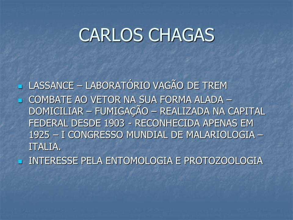 CARLOS CHAGAS LASSANCE – LABORATÓRIO VAGÃO DE TREM