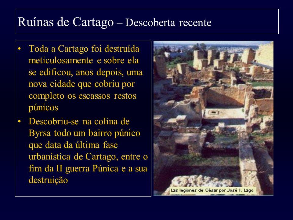 Ruínas de Cartago – Descoberta recente