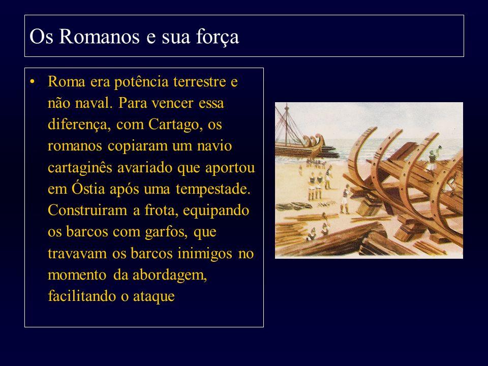 Os Romanos e sua força
