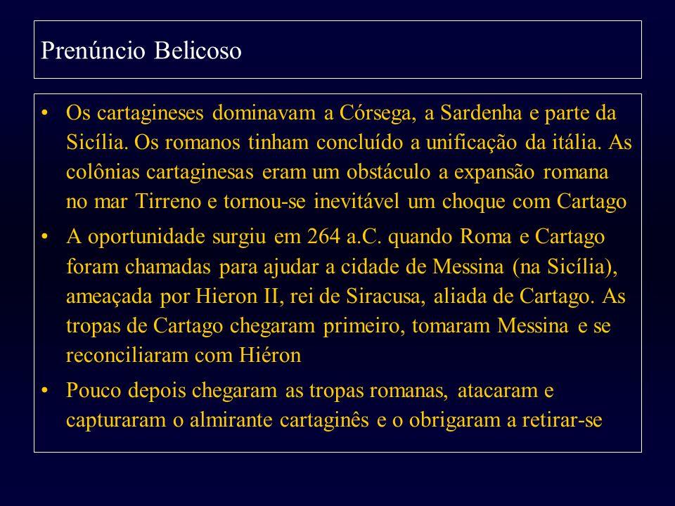 Prenúncio Belicoso