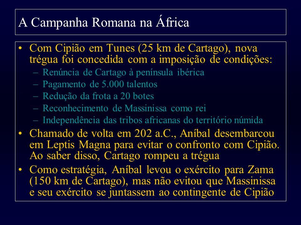 A Campanha Romana na África