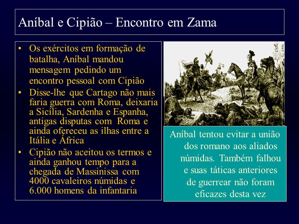 Aníbal e Cipião – Encontro em Zama