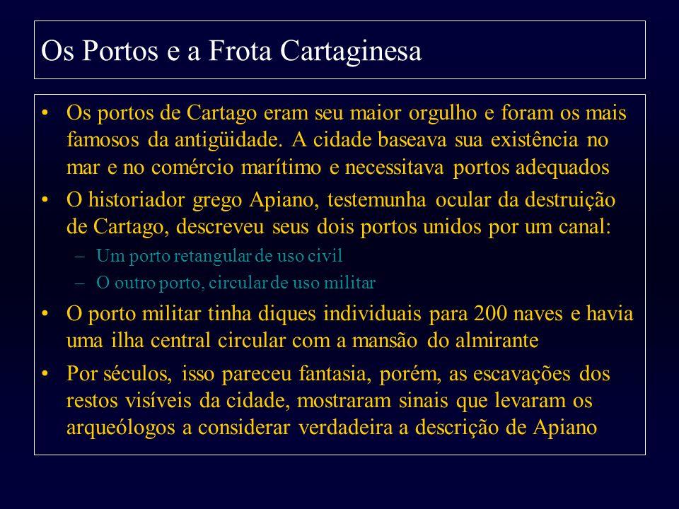 Os Portos e a Frota Cartaginesa