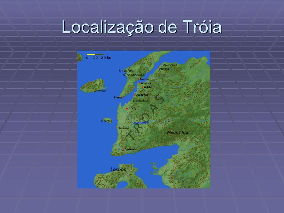 Localização de Tróia