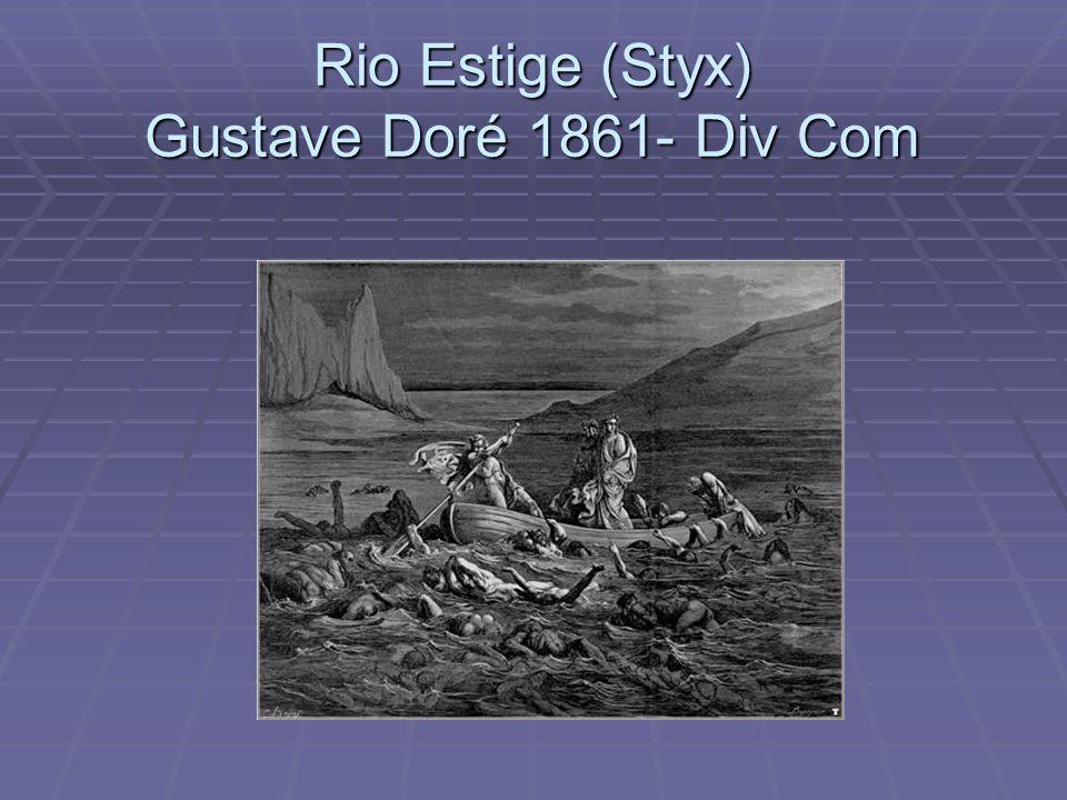 Rio Estige (Styx) Gustave Doré 1861- Div Com
