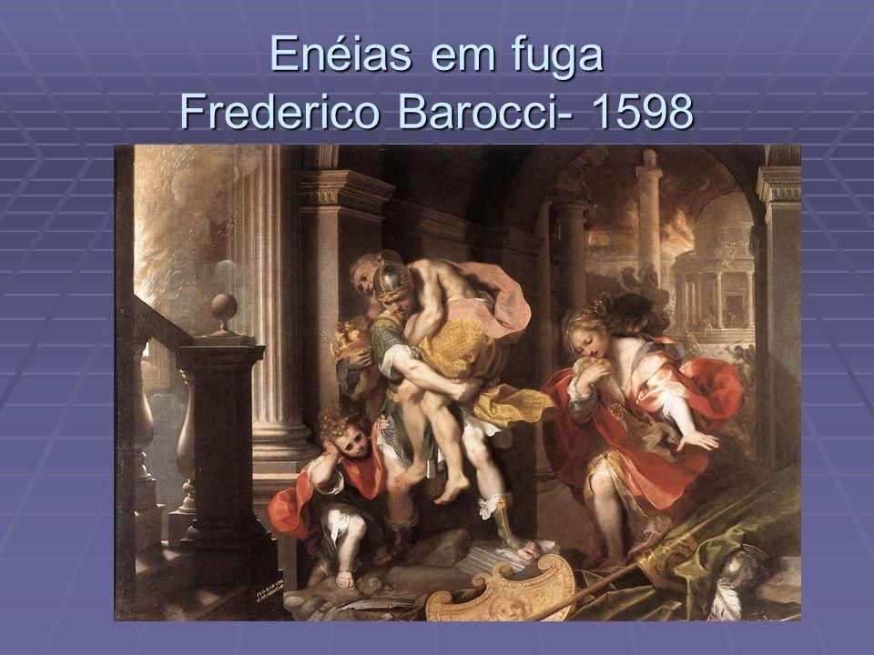 Enéias em fuga Frederico Barocci- 1598