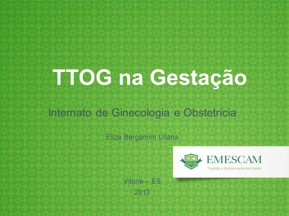 Internato de Ginecologia e Obstetrícia