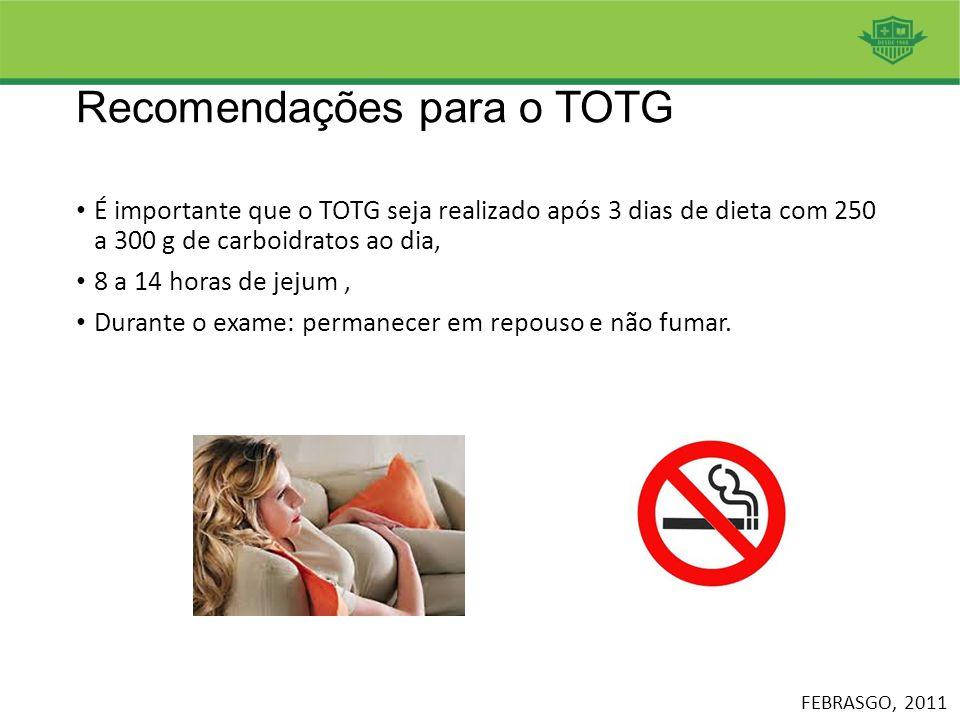 Recomendações para o TOTG
