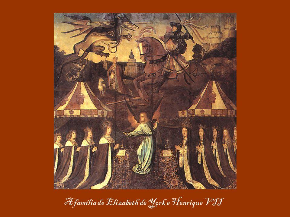 A família de Elizabeth de York e Henrique VII