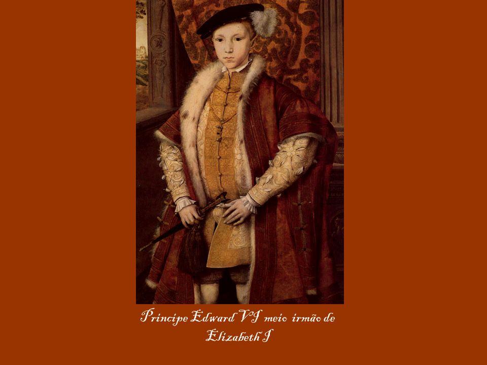 Principe Edward VI meio irmão de Elizabeth I
