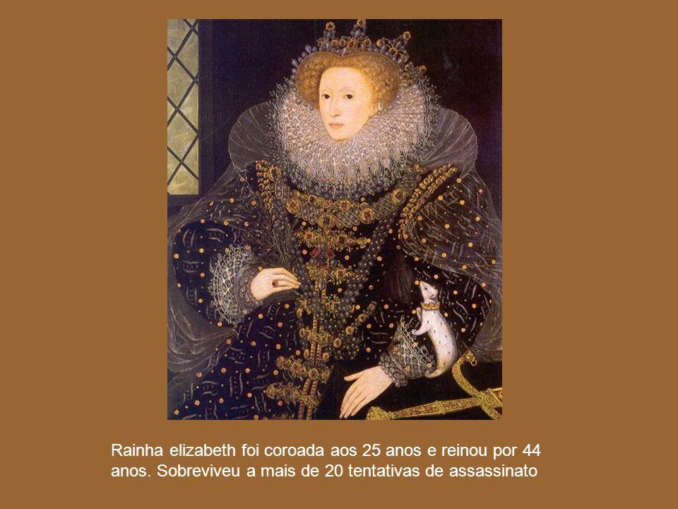 Rainha elizabeth foi coroada aos 25 anos e reinou por 44 anos