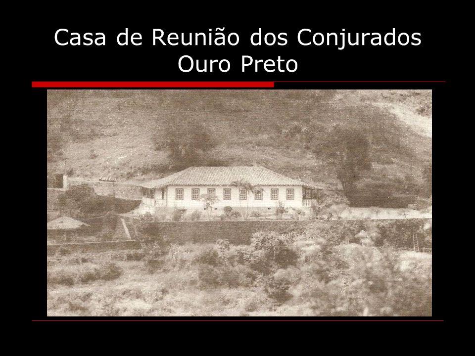 Casa de Reunião dos Conjurados Ouro Preto