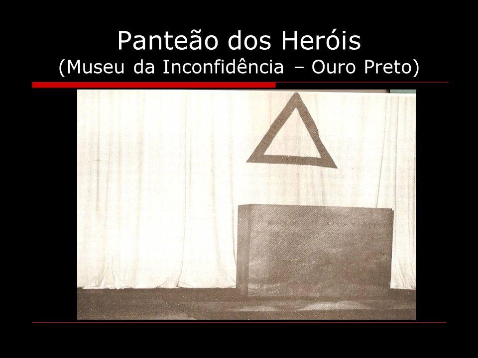 Panteão dos Heróis (Museu da Inconfidência – Ouro Preto)