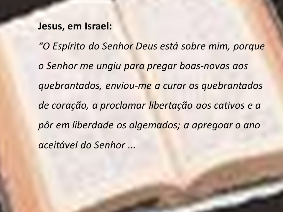 Jesus, em Israel:
