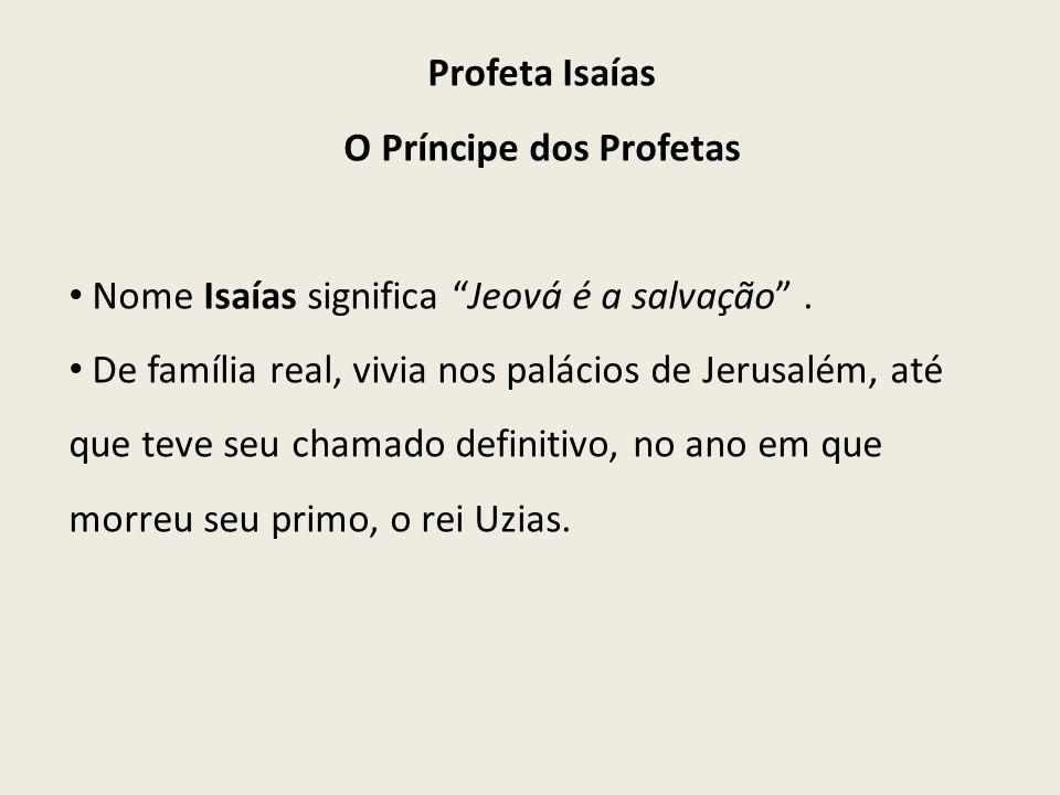 O Príncipe dos Profetas
