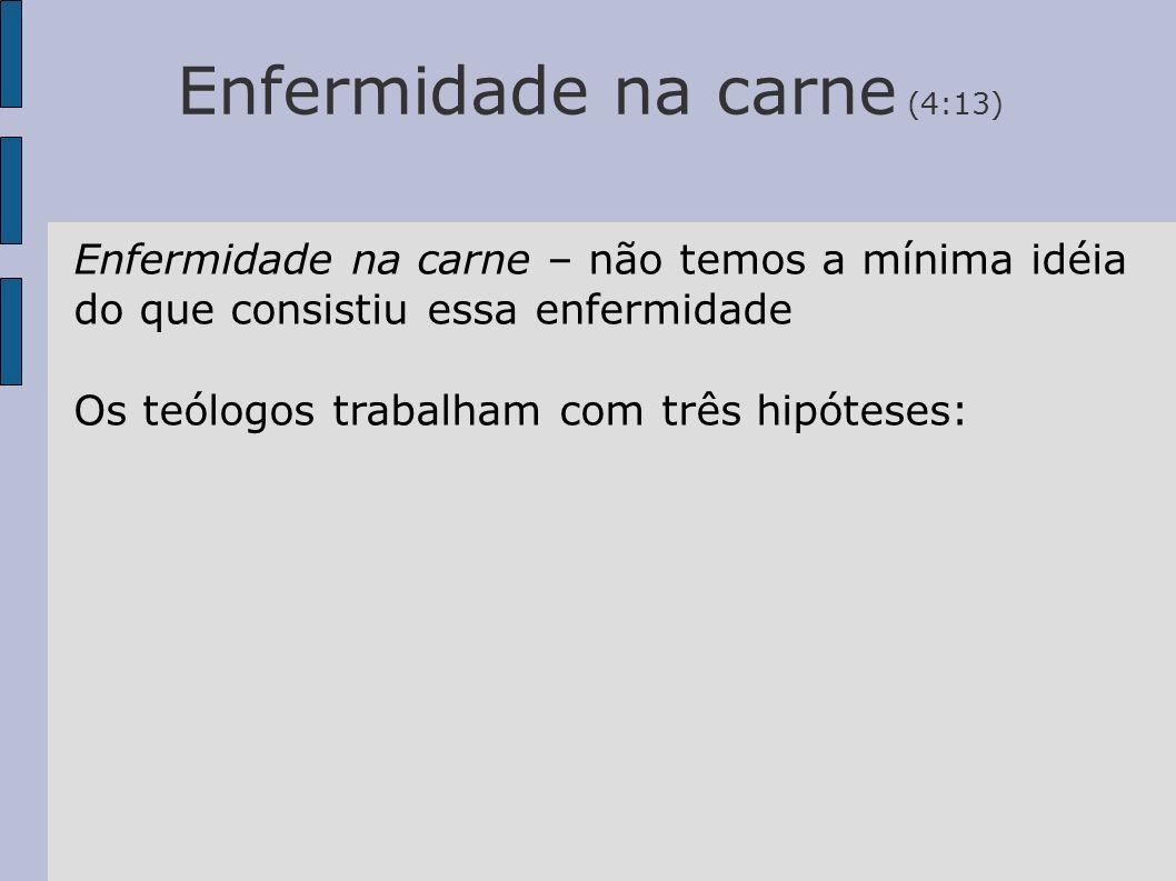 Enfermidade na carne (4:13)