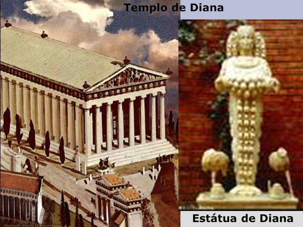 Templo de Diana Estátua de Diana