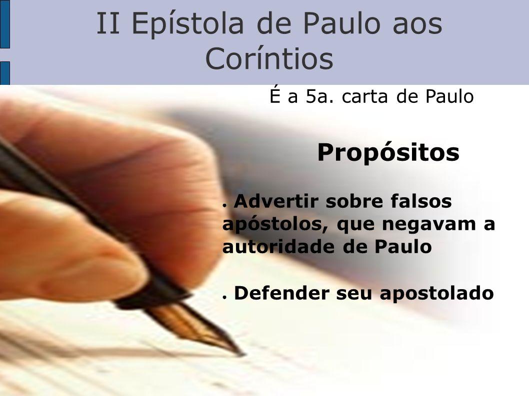 II Epístola de Paulo aos Coríntios