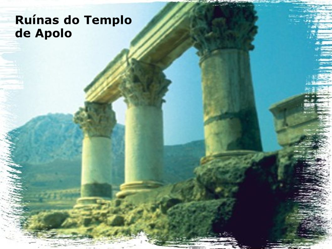 Ruínas do Templo de Apolo