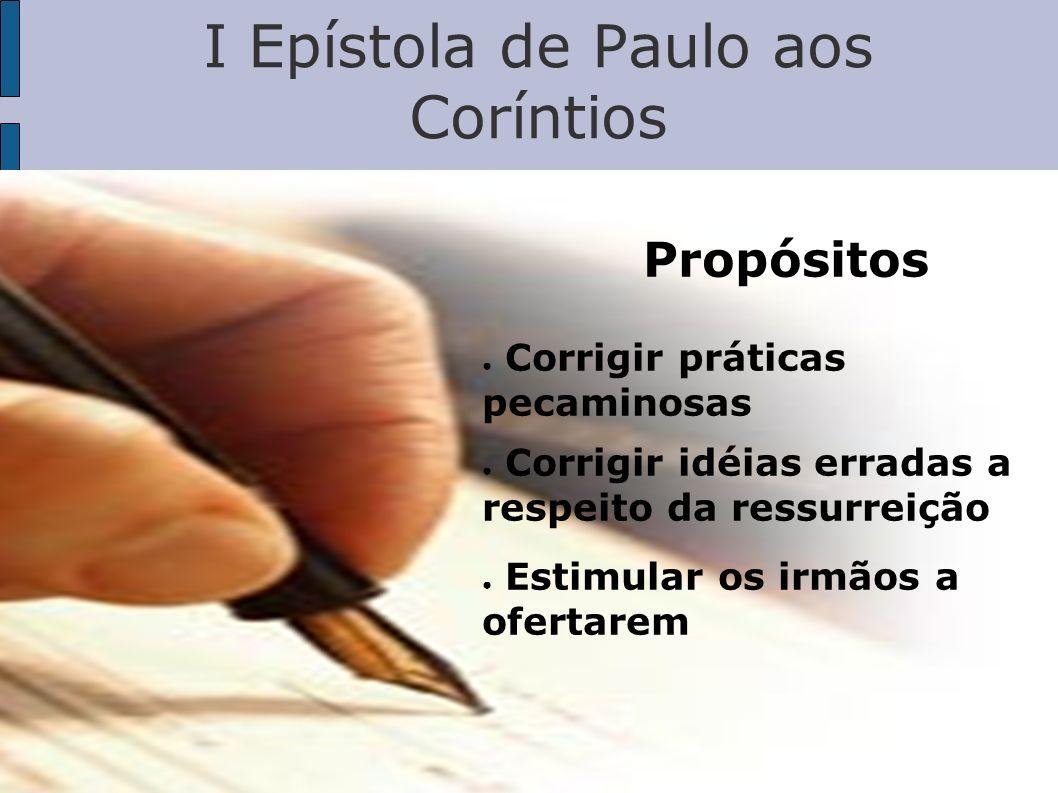 I Epístola de Paulo aos Coríntios