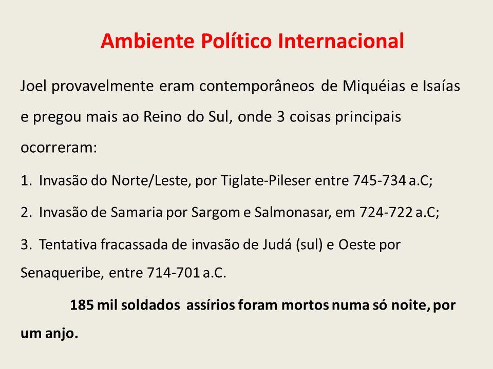 Ambiente Político Internacional