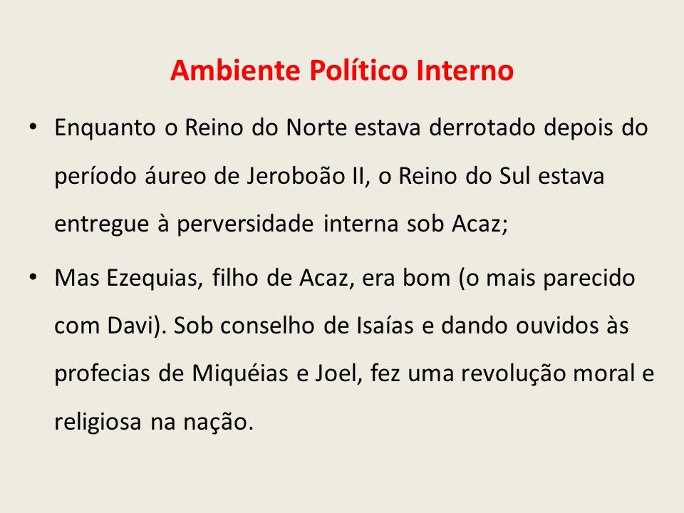 Ambiente Político Interno