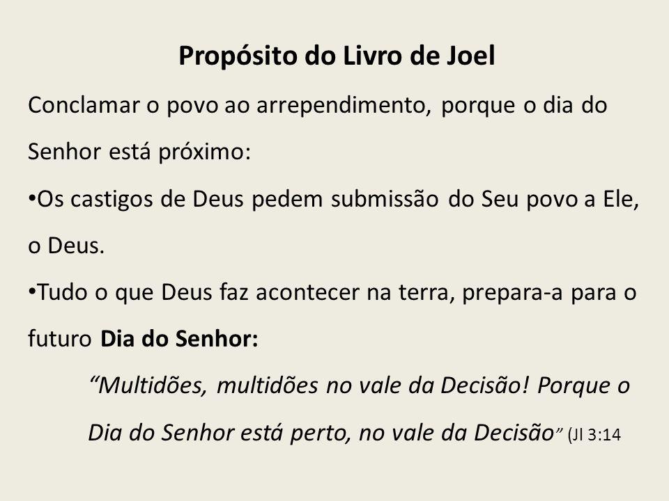 Propósito do Livro de Joel