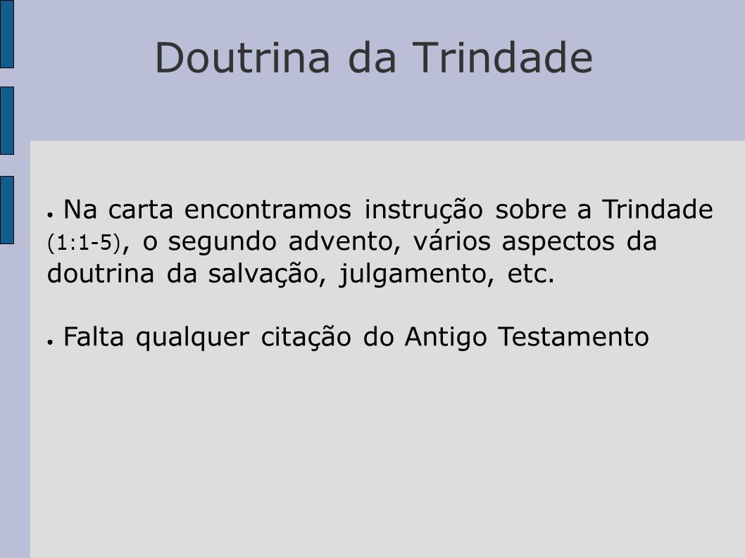 Doutrina da Trindade