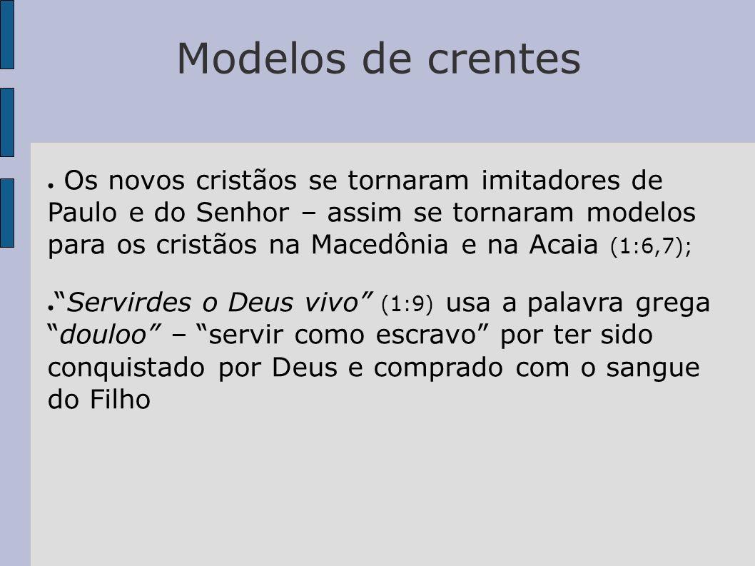 Modelos de crentes