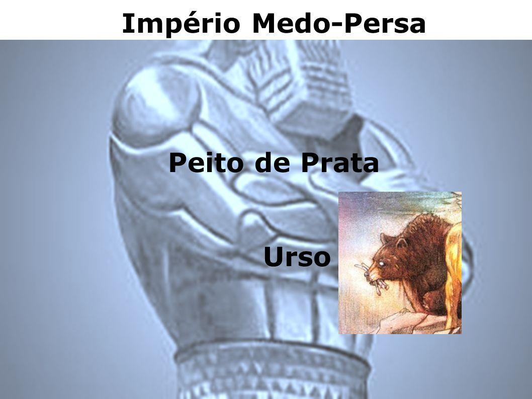 Império Medo-Persa Peito de Prata Urso
