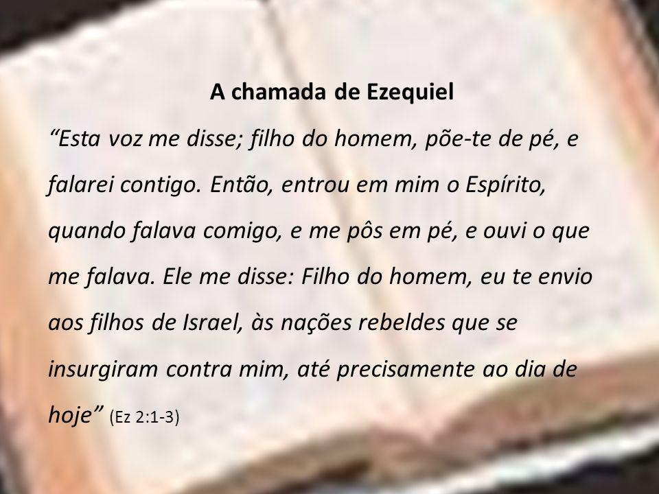A chamada de Ezequiel