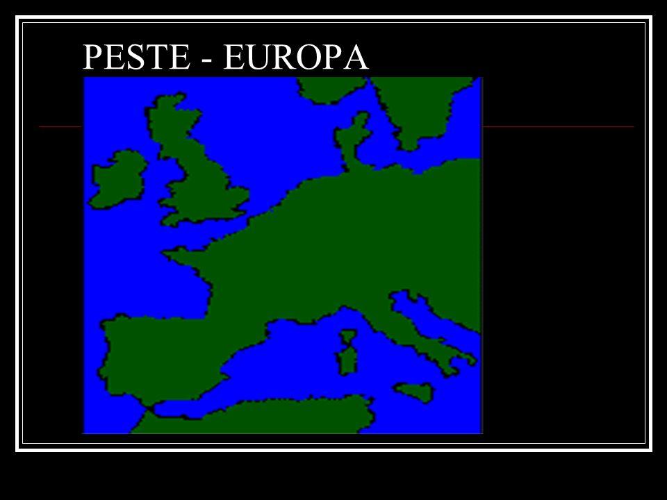 PESTE - EUROPA