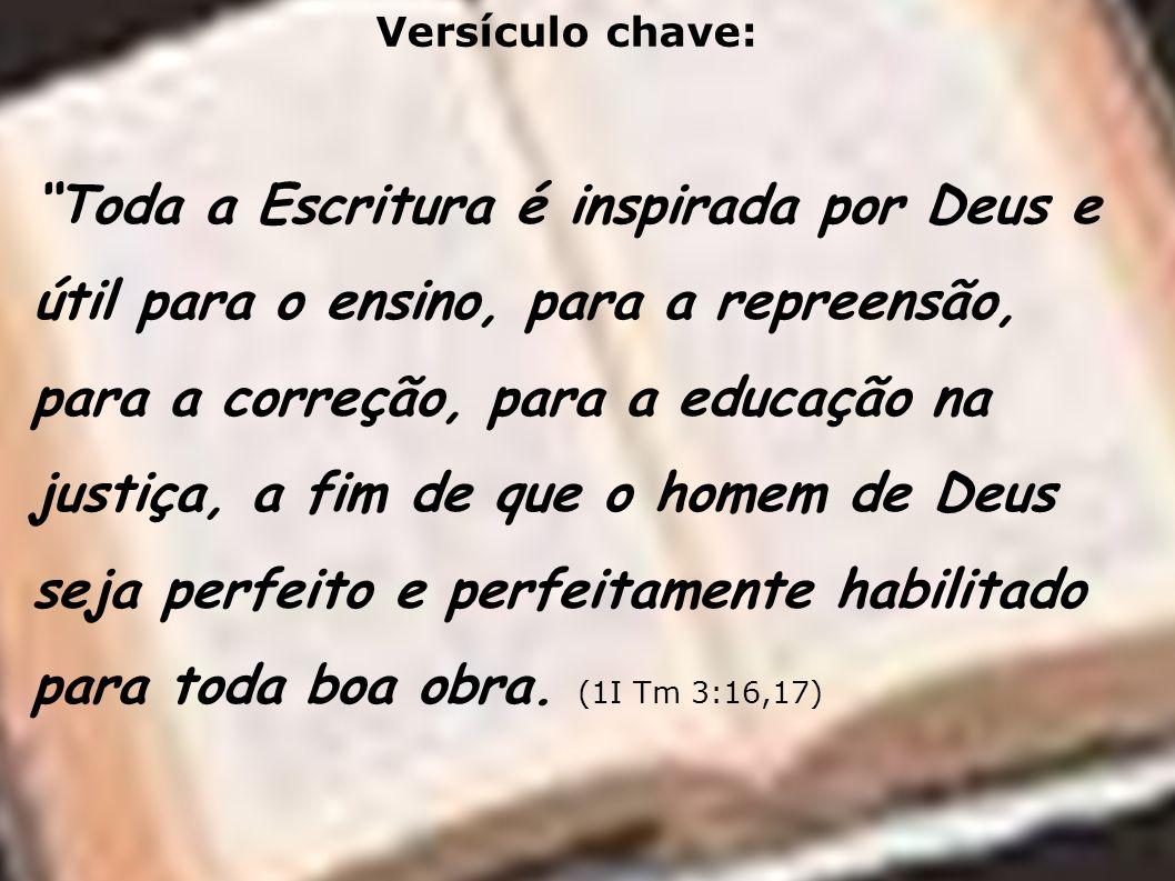 Versículo chave: