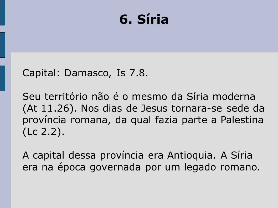 6. Síria Capital: Damasco, Is 7.8.