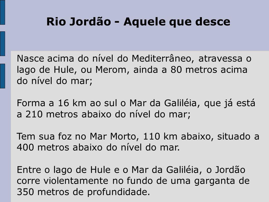 Rio Jordão - Aquele que desce