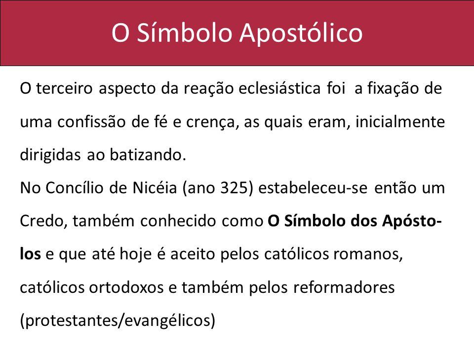 O Símbolo Apostólico